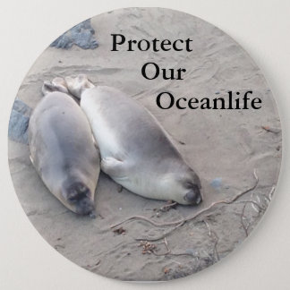 Protect Our Oceanlife Button