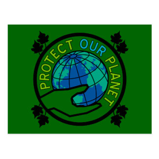 Protect Our Planet Postcard