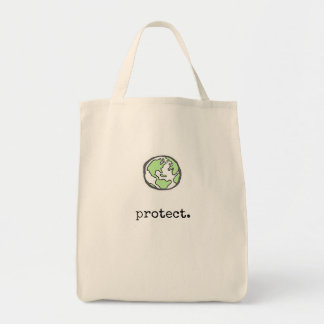 Protect Our Planet Tote Bag