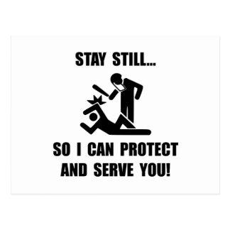 Protect Serve Postcard