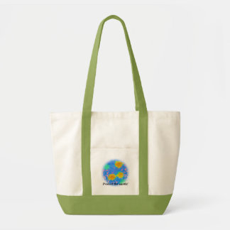 Protect the earth! tote bag