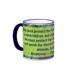 protect the forests mug