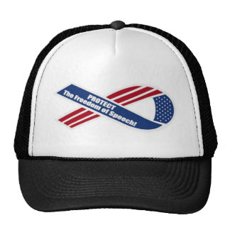 Protect the freedom of Speech Trucker Hat