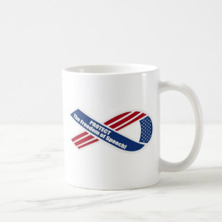 Protect the freedom of Speech Mugs