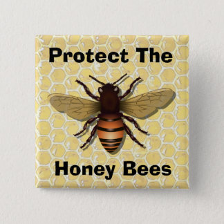 Protect the Honey Bees, Human Button