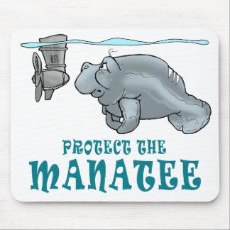 Protect the Manatee Mousepad