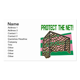 Protect The Net Business Card Templates