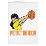Protect The Rock Greeting Card