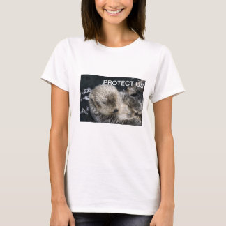 PROTECT US Otter  Cotton T Shirt