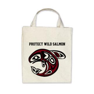 Protect Wild Salmon bag