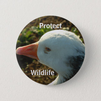 Protect Wildlife | 6 Cm Round Badge