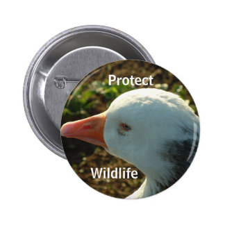 Protect Wildlife | 6 Cm Round Badge