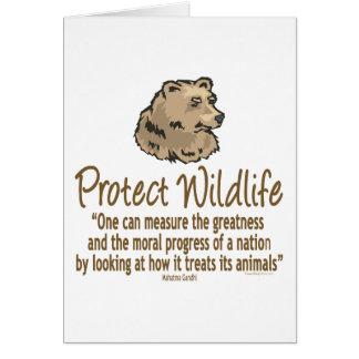 Protect Wildlife, Ursus, Bears Greeting Card