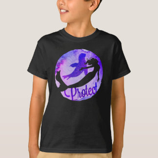 """Protect"" with Mermaid and Harbour Seal T-Shirt"