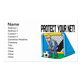 Protect Your Net Business Cards