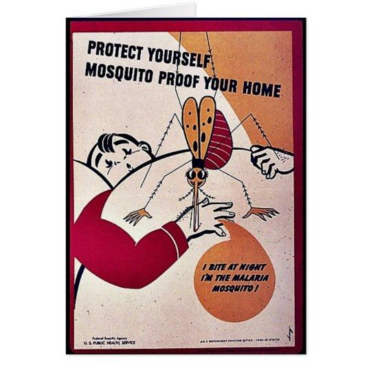 Protect Yourself Mosquito Proof Your Home Card