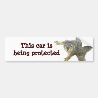 Protected_ Bumper Sticker
