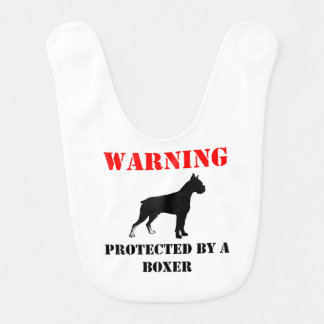 Protected By A Boxer Bib