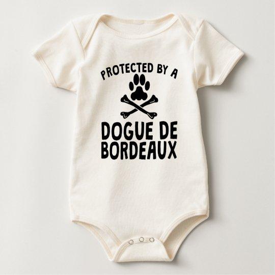 Protected By A Dogue de Bordeaux Baby Bodysuit