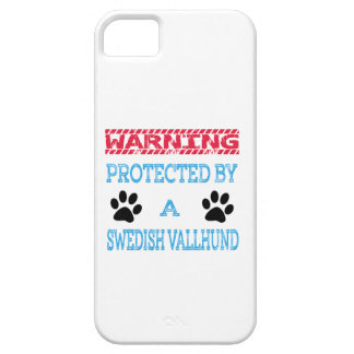 Protected By A Swedish Vallhund Dog iPhone 5 Cover