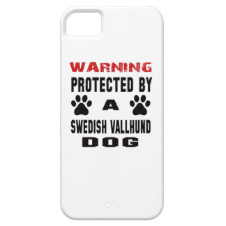 Protected By A Swedish vallhund Dog iPhone 5 Covers