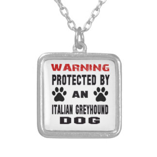 Protected by An Italian Greyhound Dog Jewelry