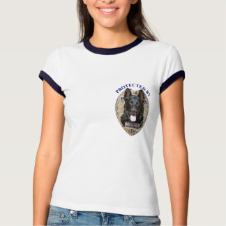 Protected By German Shepherd T-Shirt