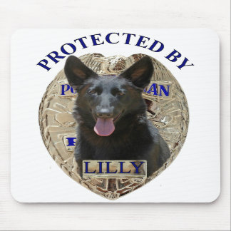 Protected By Lilly Mousepads