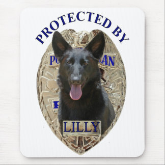 Protected By Lilly Mouse Pad