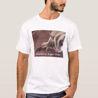Protected by Sugar Glider, WARNING T-Shirt