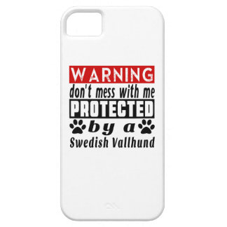 Protected By Swedish Vallhund iPhone 5 Covers