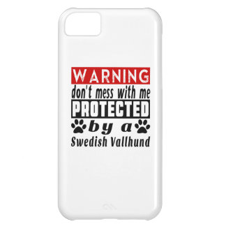Protected By Swedish Vallhund iPhone 5C Case