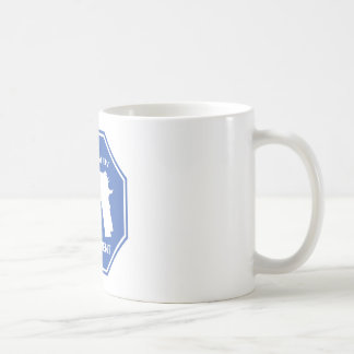 Protected By The Second Amendment (Blue).png Mugs