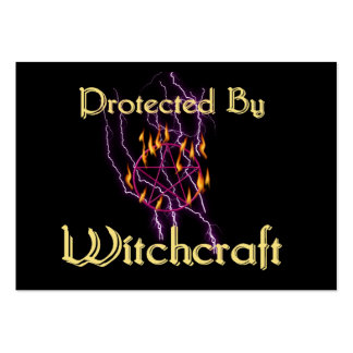 Protected By Witchcraft Business Card Templates