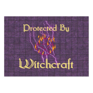 Protected By Witchcraft Business Card