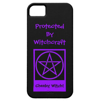 Protected by Witchcraft Cheeky Witch iphone 5 case