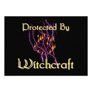 Protected By Witchcraft Personalized Invitations