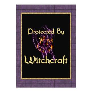 Protected By Witchcraft Custom Announcements