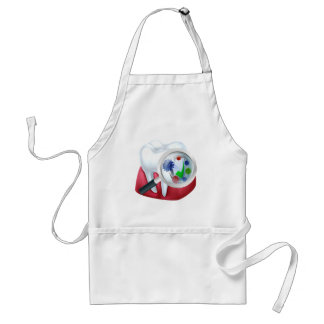 Protected Tooth and Gum Concept Standard Apron