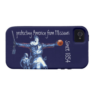 Protecting America From Missouri Since 1854 Vibe iPhone 4 Covers