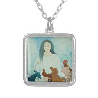 Protecting Angel 2012 Silver Plated Necklace