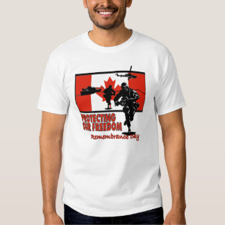 Protecting Our Freedom Remembrance Day T-Shirts