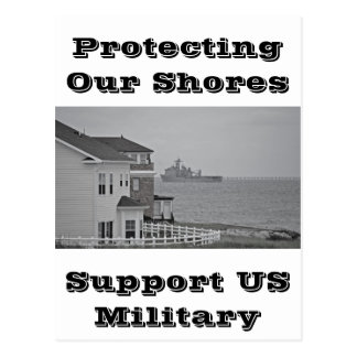 """""""Protecting our shores"""" collection Postcard"""