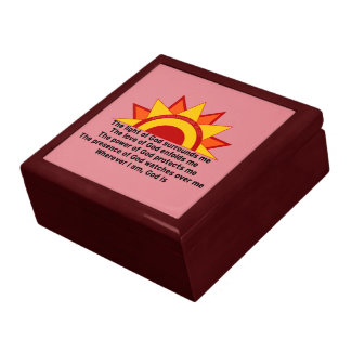 Protection Prayer Large Square Gift Box
