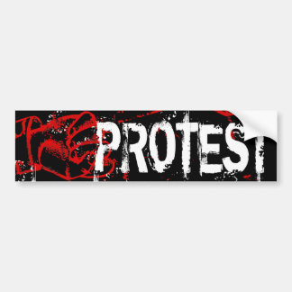 PROTEST BUMPER STICKER