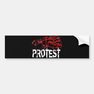 PROTEST BUMPER STICKER