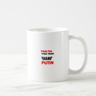 "PROTEST Russian Putin""s actions: Support FREEDOM Coffee Mugs"