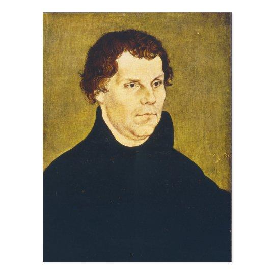 Protestant Reformist Martin Luther by L. Cranach Postcard