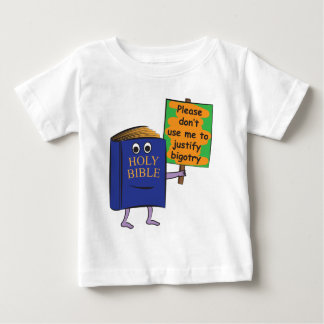 Protesting Bible Baby T-Shirt
