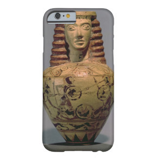 Proto-Corinthian aryballos with a human head, deco Barely There iPhone 6 Case